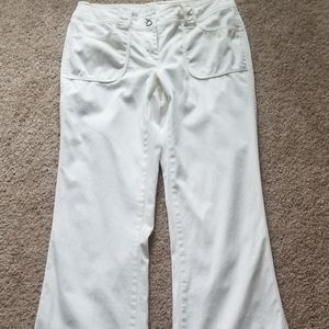 White House Black Market Cream Pants